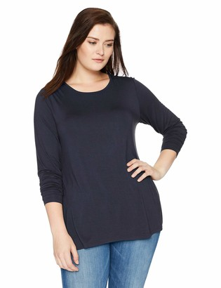 Daily Ritual Amazon Brand Women's Plus Size Jersey Long-Sleeve Crew Neck Shirt 6X