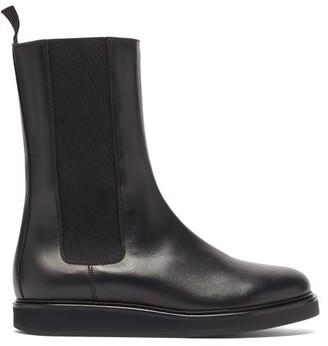 LEGRES Leather Chelsea Boots - Black