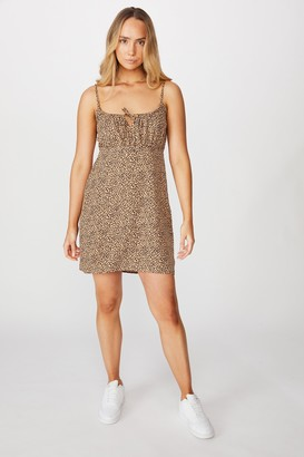 Supre Caroline Tie Front Dress