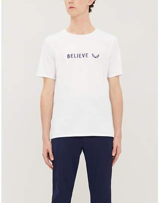 CASTORE Believe logo-print stretch-jersey T-shirt
