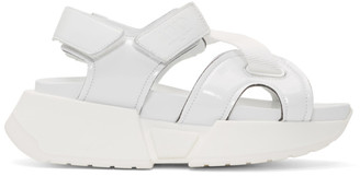 MM6 MAISON MARGIELA White Multi Strap Sandals