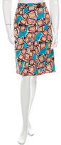 Carolina Herrera Printed Knee-Length Skirt