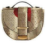 Delphine Delafon Red Heart Python Bag