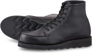Red Wing Shoes Shoes Classic Moc 3380 Black Boundary - leather | US 7 | black - Black/Black