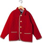 Oscar de la Renta Boys' Quilted Corduroy Jacket