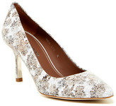 Donald J Pliner Treva Crackle Floral Pump - Narrow Width Available