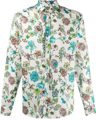 Etro Floral Print Regular Fit Shirt