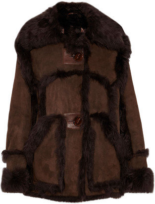 Acne Studios Lavina Shearling Coat