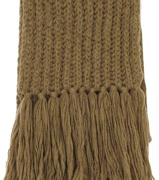 Dries Van Noten Long fringes scarf