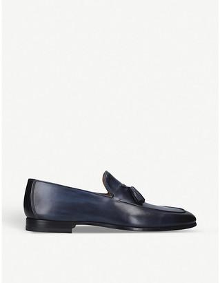 Magnanni Leather tassel loafers