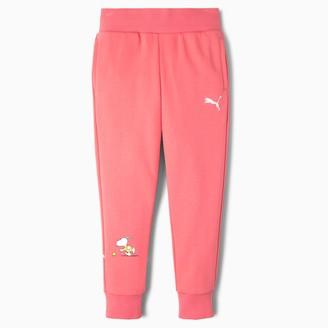 Puma x PEANUTS Girls' Sweatpants