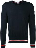 Moncler Gamme Bleu crew neck jumper - men - Silk/Cashmere - 1