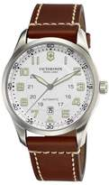 Victorinox 241505 Stainless Steel & Leather Automatic 42mm Mens Watch