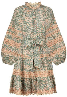 Ulla Johnson Ardith floral cotton minidress