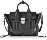 3.1 Phillip Lim Pashli Black Leather Mini Satchel Bag
