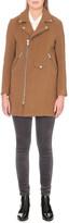 Maje Garius wool-blend coat