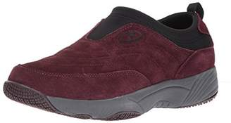 Propet Women's W3851 Wash & Wear Slip-on II Slip Resistant Sneaker Walking Shoe