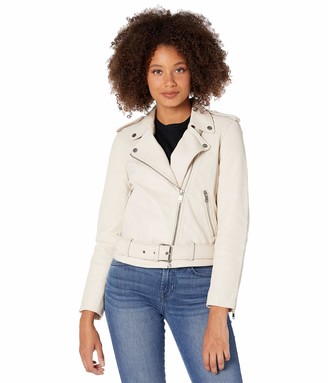 AG Jeans Women's Rory Leather Motorcycle Jacket