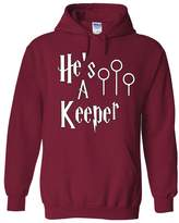 Outlook Designs Harry Potter He's A Keeper Unisex Adult Hoodie