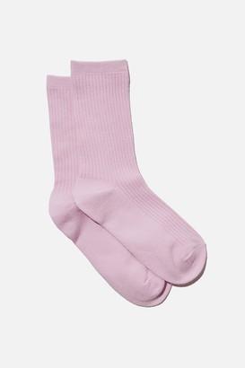 Rubi Everyday Rib Sock