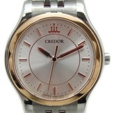 Seiko Credor 4J85-0A20 Y2391165 18K Yellow Gold and Stainless Steel Quartz 25mm Womens Watch