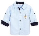 3 Pommes Infant Boys' Chambray Shirt - Sizes 3-24 Months