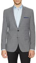Ben Sherman Wool Slub Super Slim Fit Sportcoat