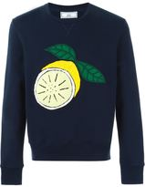 Ami Alexandre Mattiussi lemon patch sweatshirt