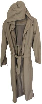 Ramosport Beige Cotton Coat for Women