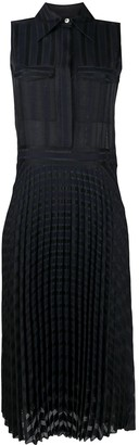 Victoria Victoria Beckham Pleated Shirt Dress