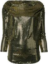 Vivienne Westwood Amber blouse - women - Polyurethane/Spandex/Elastane/Viscose - S