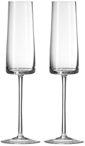 Vera Wang Wedgwood Metropolitan Flute Glasses (Set of 2)