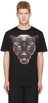 Marcelo Burlon County of Milan Black Rufo T-shirt