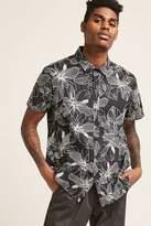 21men 21 MEN Tropical Print Shirt