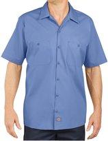 Dickies Men's Short-Sleeve Industrial Poplin Work Shirt - 2XL