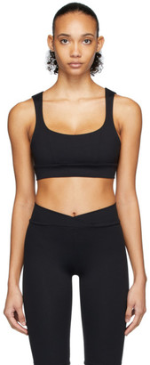 Live The Process Black Aura Sports Bra