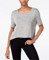Bar III Zip-Back Knit Top, Only at Macy's