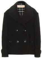 Burberry Wool-blend Pea Coat