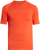 Falke V-neck running T-shirt