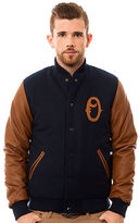 Obey The O Varsity Jacket