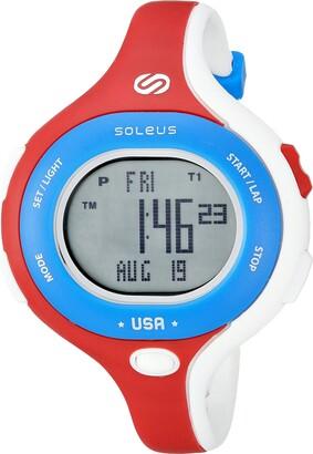 Soleus Chicked Women's 'Signature Series' Quartz Plastic Running Watch Color:White (Model: SR009-665)