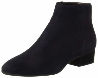 Aquatalia Women's Fuoco Suede Ankle Boot Navy 8.5 M US