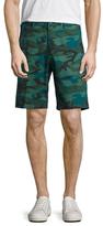 Avio Camouflage Printed Shorts