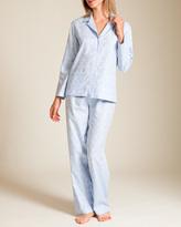 Daniel Hanson Paisley Cotton Jacquard Pajama