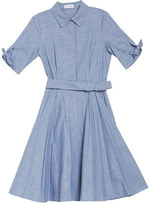 Calvin Klein Short Sleeve Shirt Dress