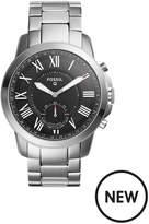 Fossil Fossil Q Mens Hybrid Smartwatch Stainless Steel Bracelet