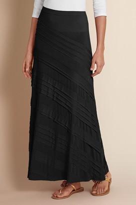 Talls Knit Tiered Skirt