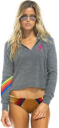Singer22 Bolt Chevron 5 Stitch Split Neck Sweatshirt
