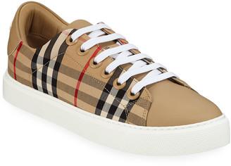 Burberry Albridge Check Sneakers