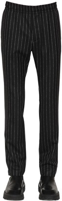 Alyx LOGO PINSTRIPE CASHMERE & WOOL PANTS